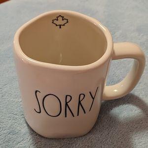 Rae Dunn Sorry Mug